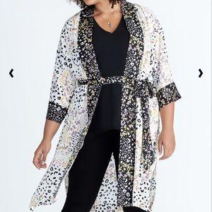 Rachel Roy 2X/3X January Kimono